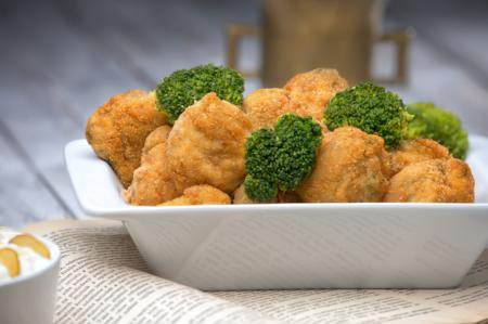 Smažená brokolice