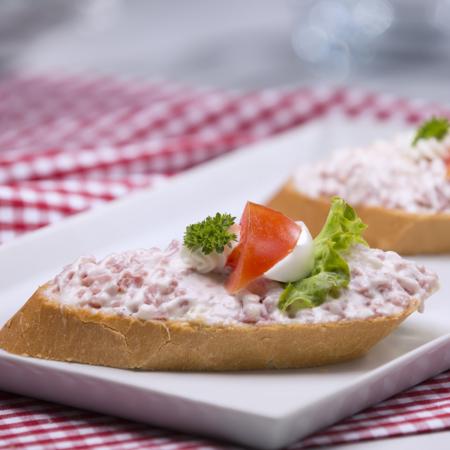 Hermelínový chlebíček