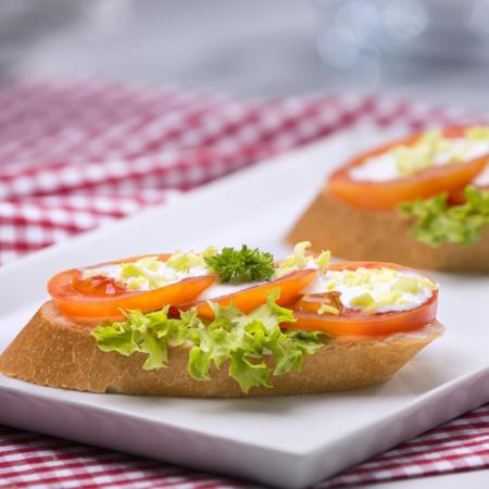 Rajčatový chlebíček
