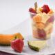 čerstvé ovoce, meloun, jahody, ananas