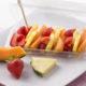 ovoce, jahody, meloun, ananas